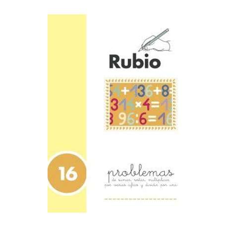 PROBLEMAS RUBIO PROBLEMAS 16
